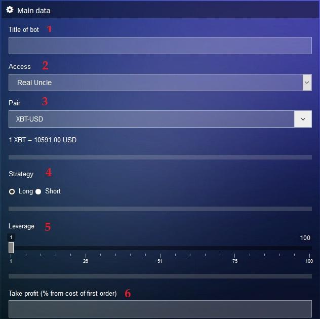 Bitmex bot