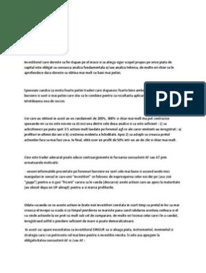 principiul fortelor de opțiuni de tranzacționare alegerea unui cont demo