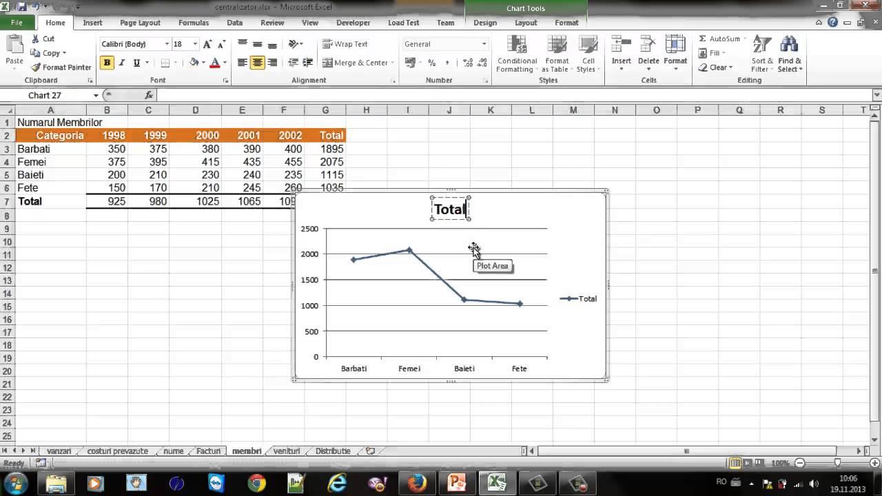 cum se adaugă o linie de tendință într- un grafic Am nevoie de bani unde să- i câștig