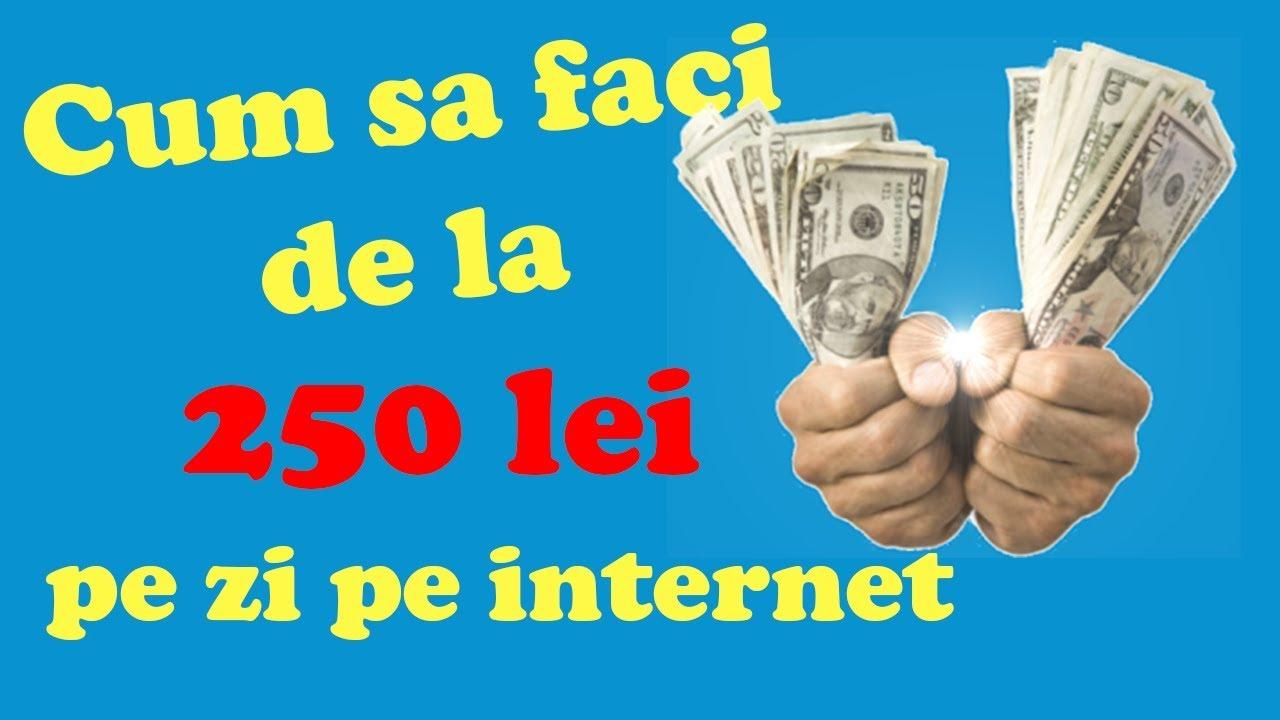 Câștigați bani pe Internet în 10 minute
