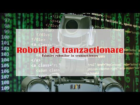 roboți de investiţii bursa