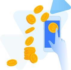 Cords face bani pe bitcoins