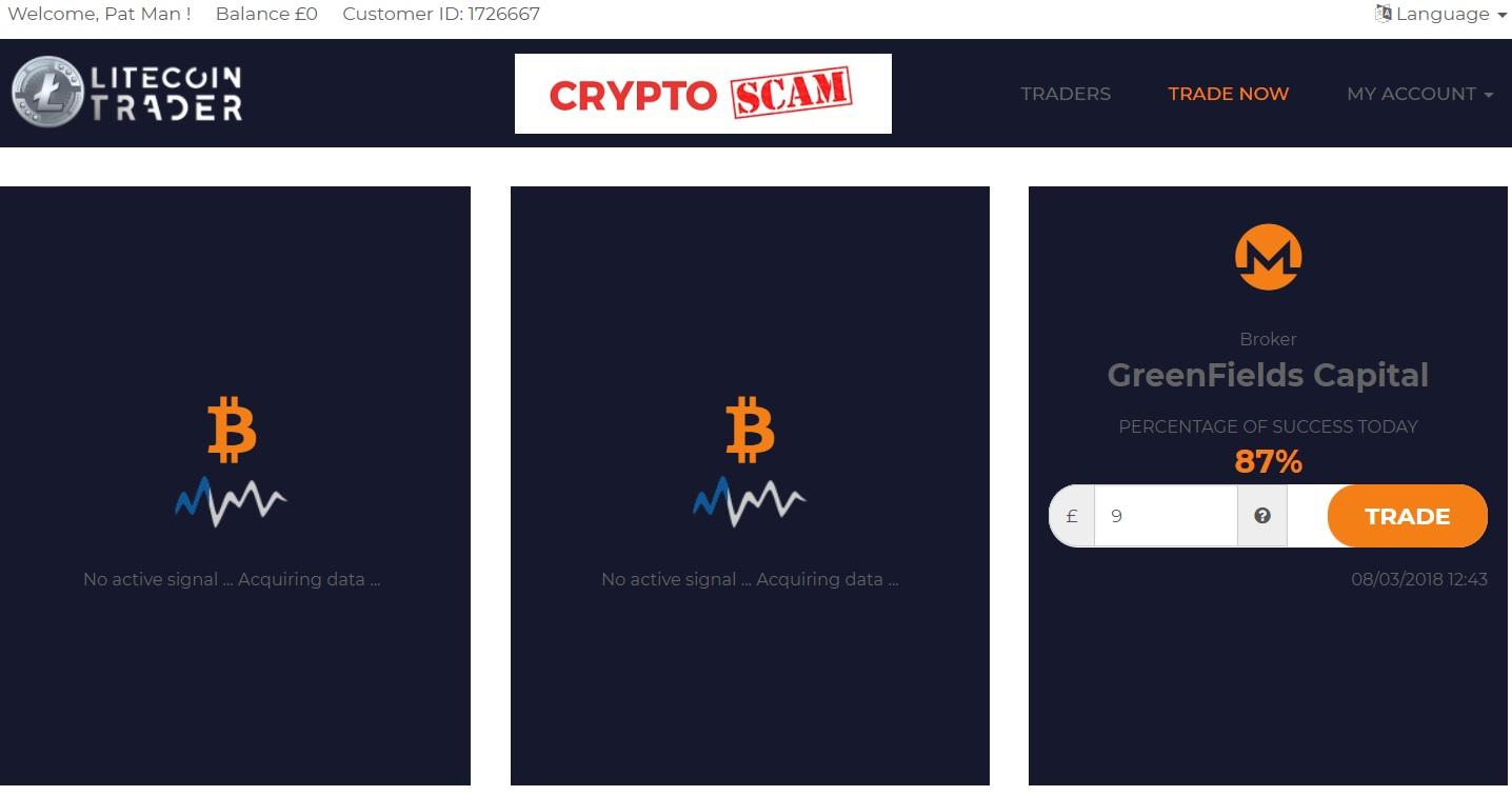 bitcoin autotrader înșelătorie